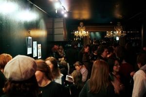 Bar throng
